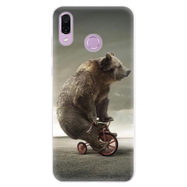 Silikonové pouzdro iSaprio - Bear 01 - Huawei Honor Play