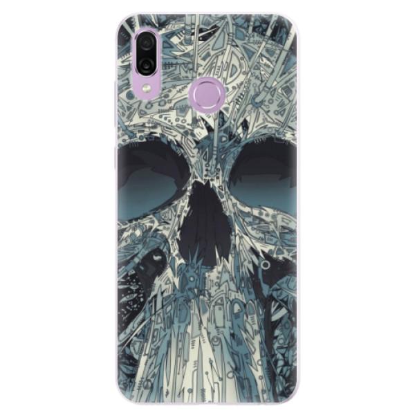Silikonové pouzdro iSaprio - Abstract Skull - Huawei Honor Play
