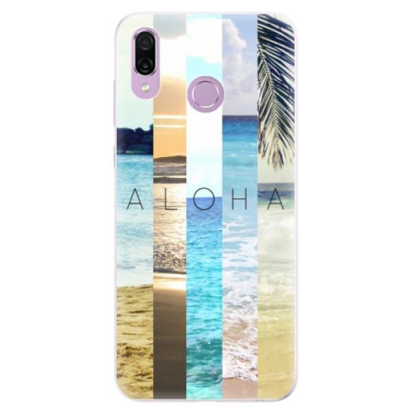 Silikonové pouzdro iSaprio - Aloha 02 - Huawei Honor Play