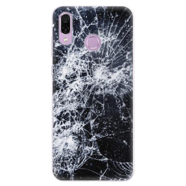Silikonové pouzdro iSaprio - Cracked - Huawei Honor Play