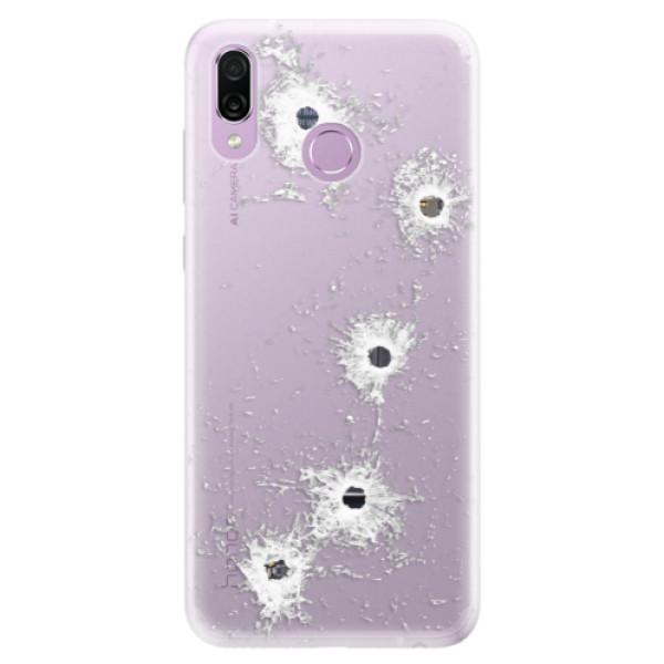 Silikonové pouzdro iSaprio - Gunshots - Huawei Honor Play