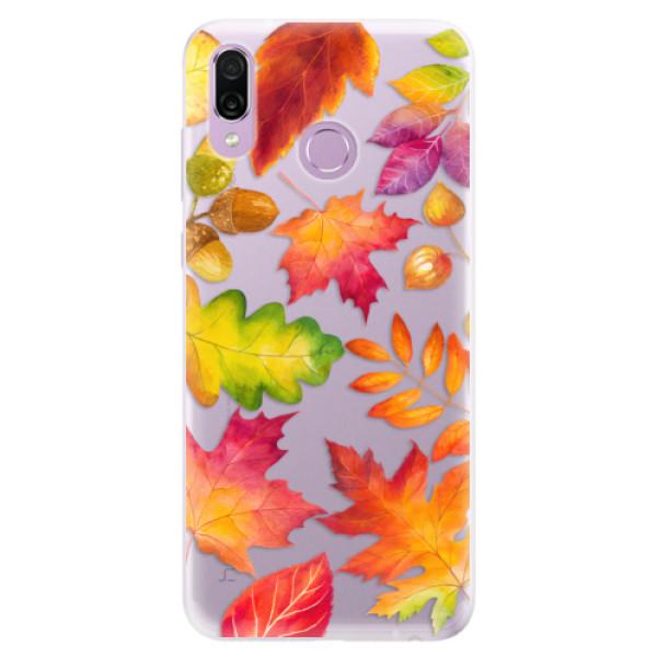 Silikonové pouzdro iSaprio - Autumn Leaves 01 - Huawei Honor Play