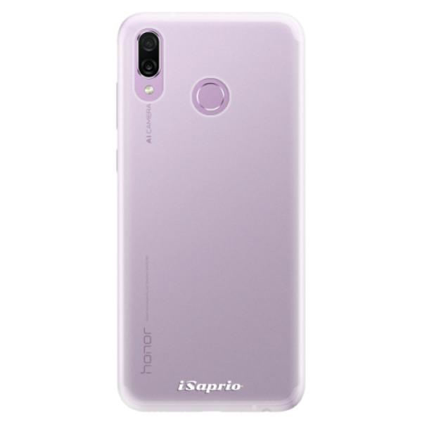 Silikonové pouzdro iSaprio - 4Pure - mléčný bez potisku - Huawei Honor Play