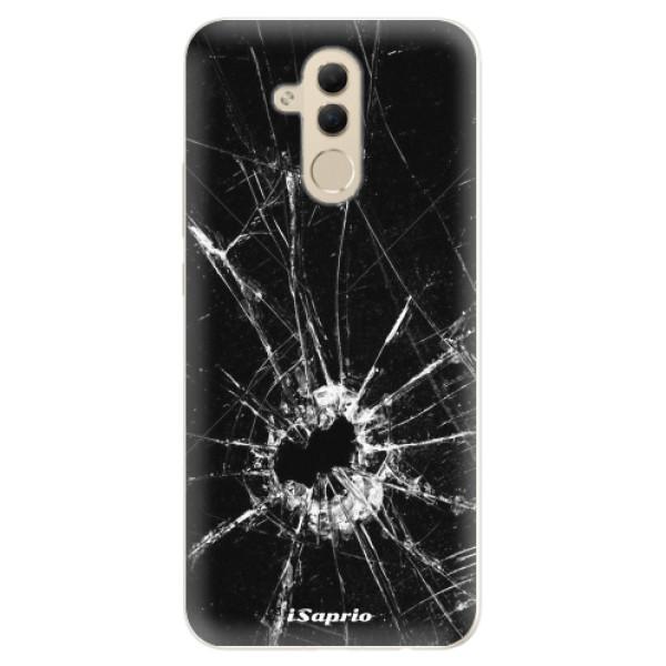 Silikonové pouzdro iSaprio - Broken Glass 10 - Huawei Mate 20 Lite