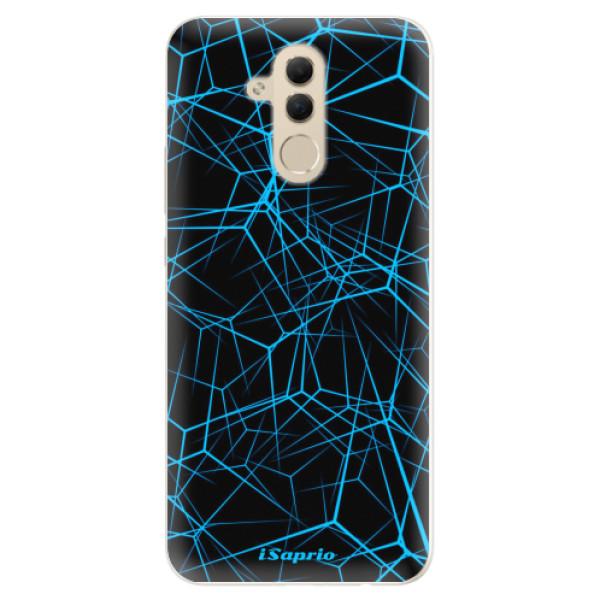 Silikonové pouzdro iSaprio - Abstract Outlines 12 - Huawei Mate 20 Lite