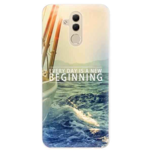 Silikonové pouzdro iSaprio - Beginning - Huawei Mate 20 Lite