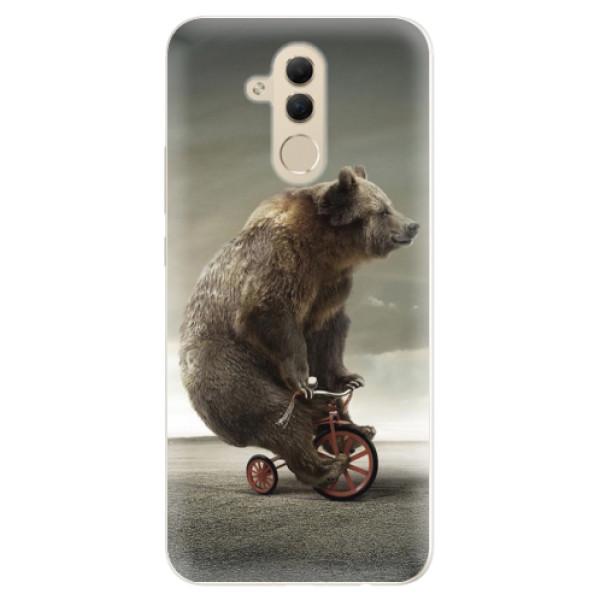 Silikonové pouzdro iSaprio - Bear 01 - Huawei Mate 20 Lite
