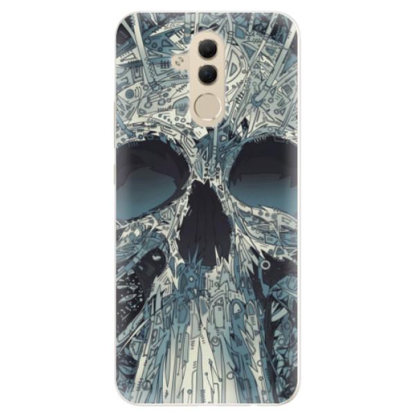 Silikonové pouzdro iSaprio - Abstract Skull - Huawei Mate 20 Lite