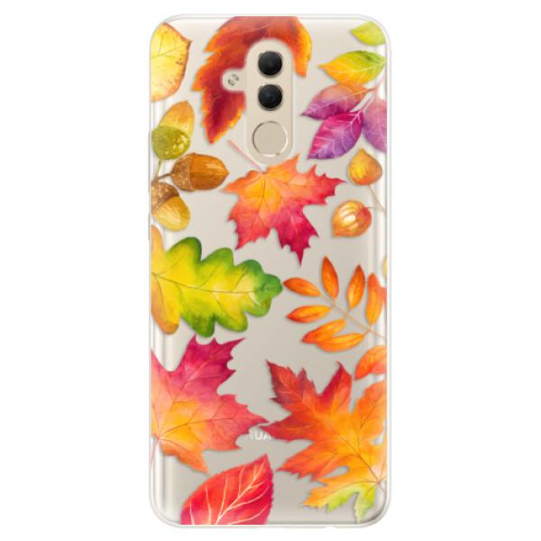 Silikonové pouzdro iSaprio - Autumn Leaves 01 - Huawei Mate 20 Lite