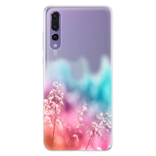 Silikonové pouzdro iSaprio - Rainbow Grass - Huawei P20 Pro