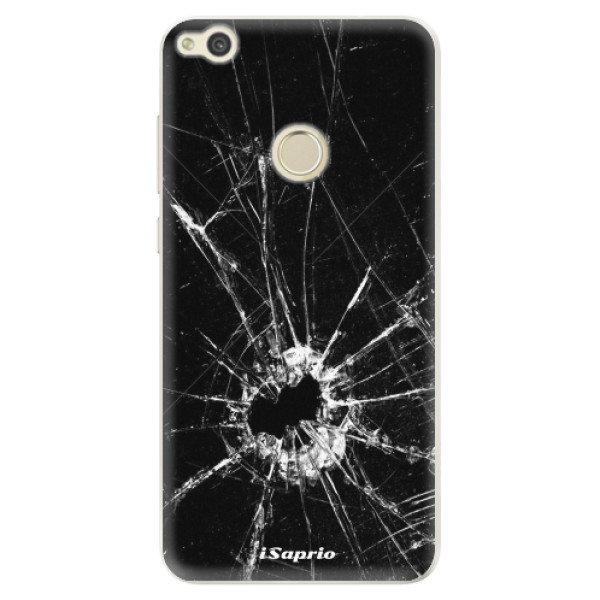 Silikonové pouzdro iSaprio - Broken Glass 10 - Huawei P9 Lite 2017