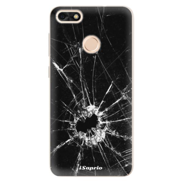 Silikonové pouzdro iSaprio - Broken Glass 10 - Huawei P9 Lite Mini