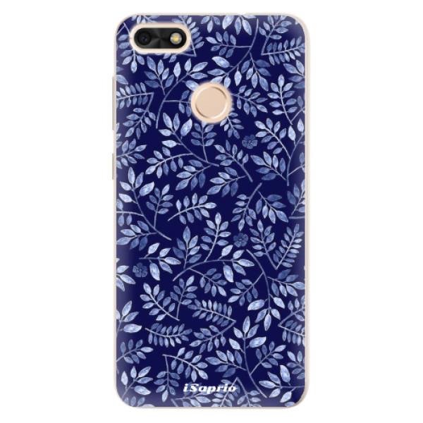 Silikonové pouzdro iSaprio - Blue Leaves 05 - Huawei P9 Lite Mini