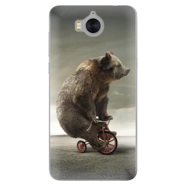 Silikonové pouzdro iSaprio - Bear 01 - Huawei Y5 2017 / Y6 2017