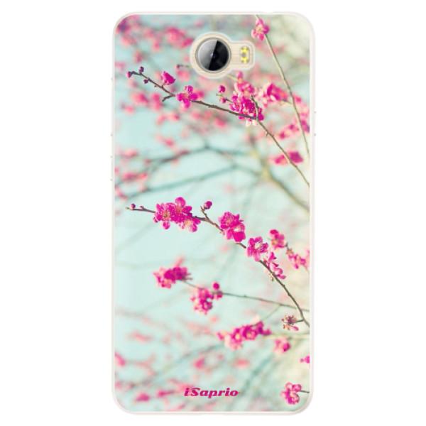 Silikonové pouzdro iSaprio - Blossom 01 - Huawei Y5 II / Y6 II Compact