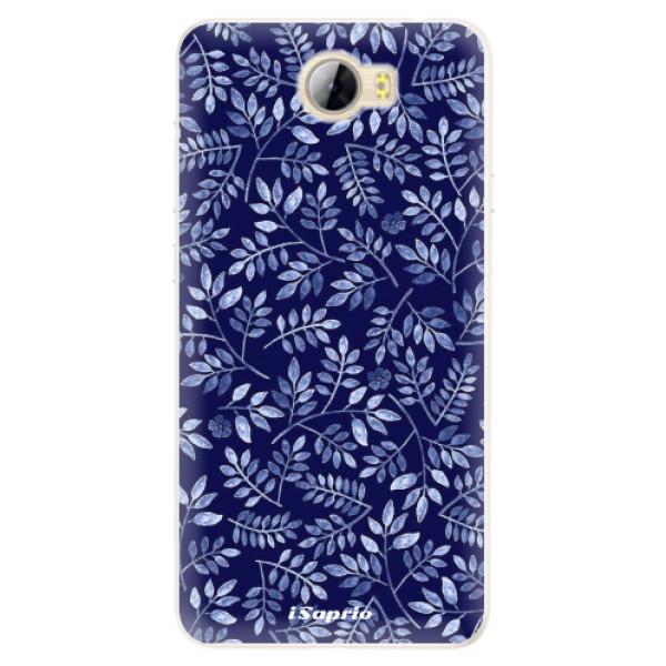 Silikonové pouzdro iSaprio - Blue Leaves 05 - Huawei Y5 II / Y6 II Compact