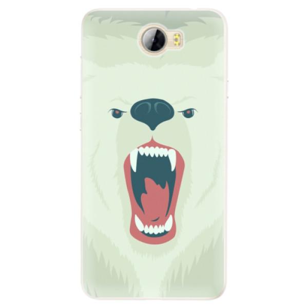 Silikonové pouzdro iSaprio - Angry Bear - Huawei Y5 II / Y6 II Compact