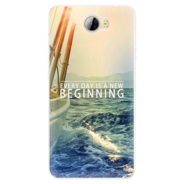 Silikonové pouzdro iSaprio - Beginning - Huawei Y5 II / Y6 II Compact