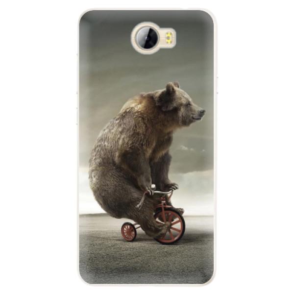 Silikonové pouzdro iSaprio - Bear 01 - Huawei Y5 II / Y6 II Compact