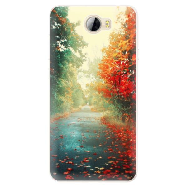 Silikonové pouzdro iSaprio - Autumn 03 - Huawei Y5 II / Y6 II Compact