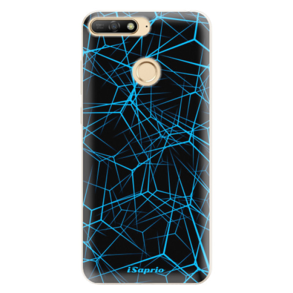 Silikonové pouzdro iSaprio - Abstract Outlines 12 - Huawei Y6 Prime 2018