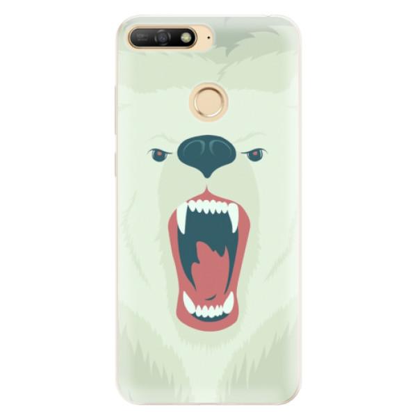 Silikonové pouzdro iSaprio - Angry Bear - Huawei Y6 Prime 2018