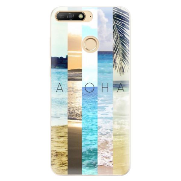 Silikonové pouzdro iSaprio - Aloha 02 - Huawei Y6 Prime 2018