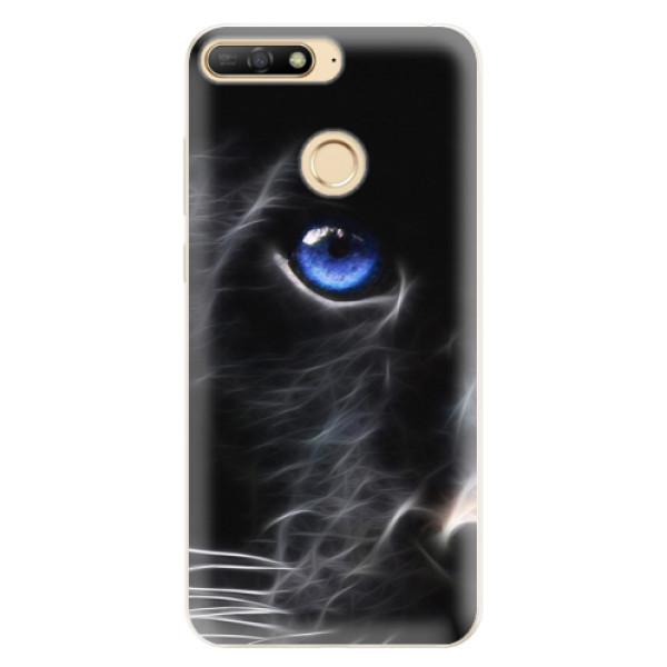 Silikonové pouzdro iSaprio - Black Puma - Huawei Y6 Prime 2018