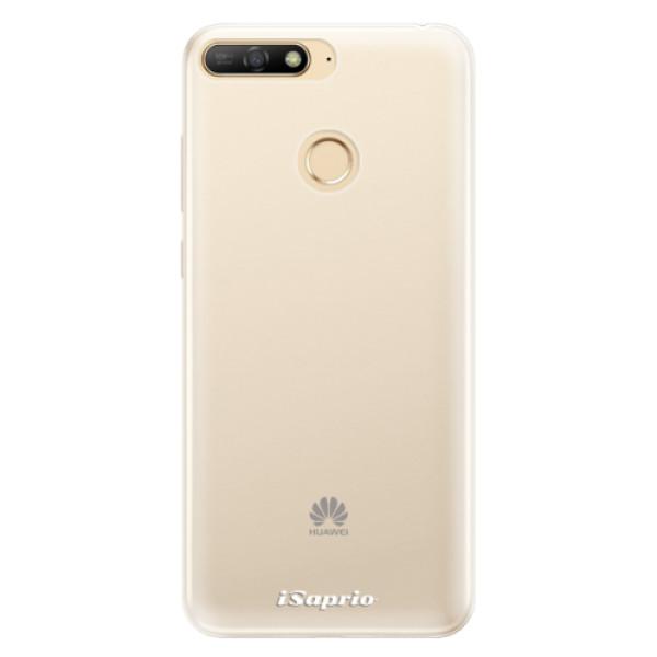 Silikonové pouzdro iSaprio - 4Pure - mléčný bez potisku - Huawei Y6 Prime 2018