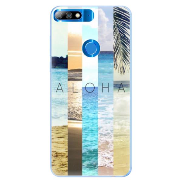 Silikonové pouzdro iSaprio - Aloha 02 - Huawei Y7 Prime 2018