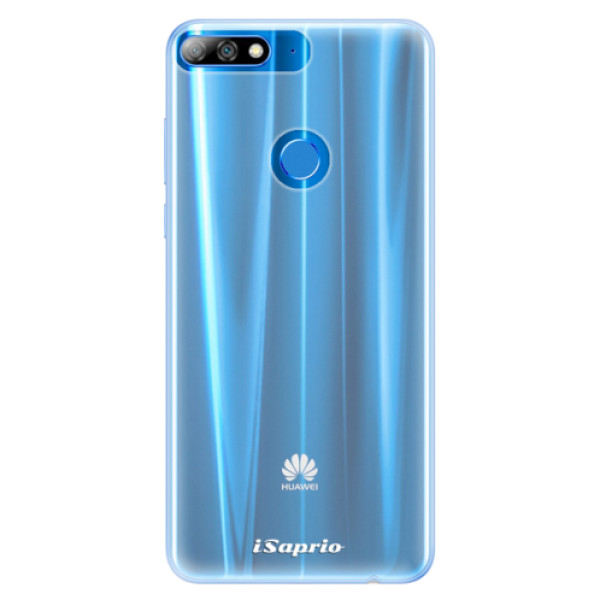 Silikonové pouzdro iSaprio - 4Pure - mléčný bez potisku - Huawei Y7 Prime 2018