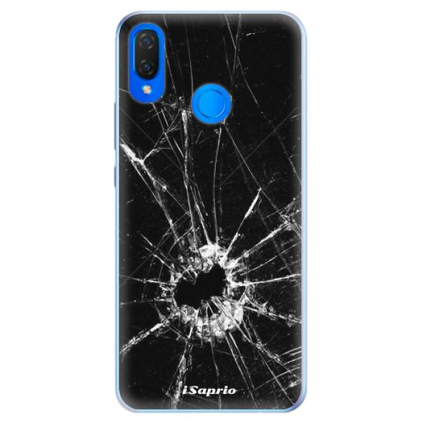 Silikonové pouzdro iSaprio - Broken Glass 10 - Huawei Nova 3i
