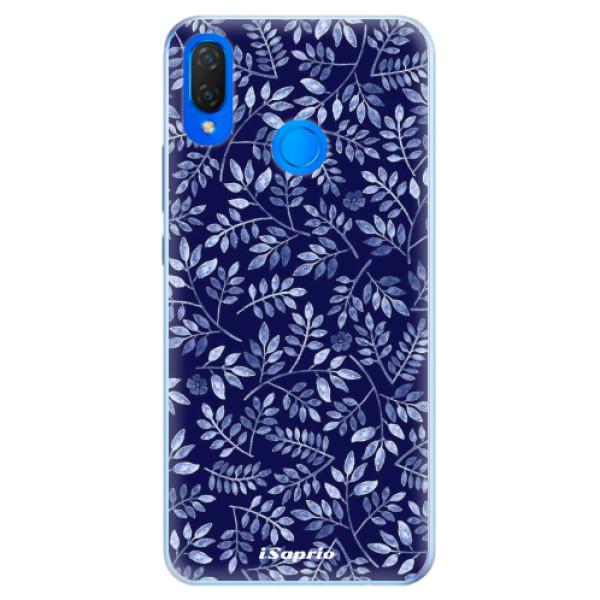 Silikonové pouzdro iSaprio - Blue Leaves 05 - Huawei Nova 3i