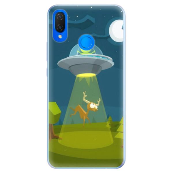 Silikonové pouzdro iSaprio - Alien 01 - Huawei Nova 3i