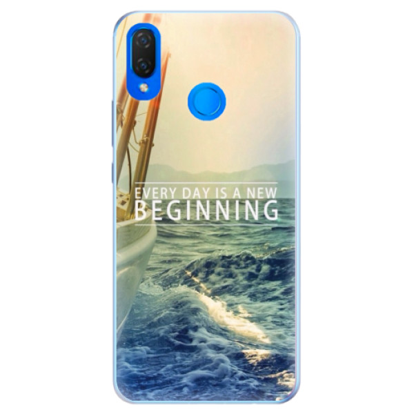 Silikonové pouzdro iSaprio - Beginning - Huawei Nova 3i