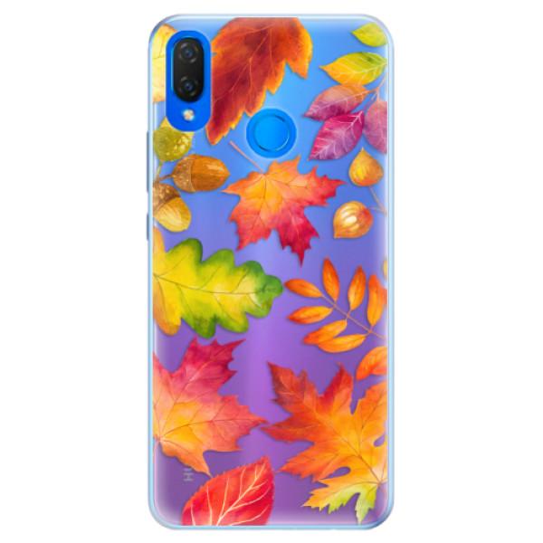 Silikonové pouzdro iSaprio - Autumn Leaves 01 - Huawei Nova 3i