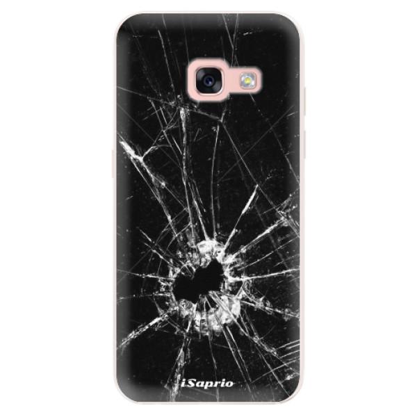 Silikonové pouzdro iSaprio - Broken Glass 10 - Samsung Galaxy A3 2017