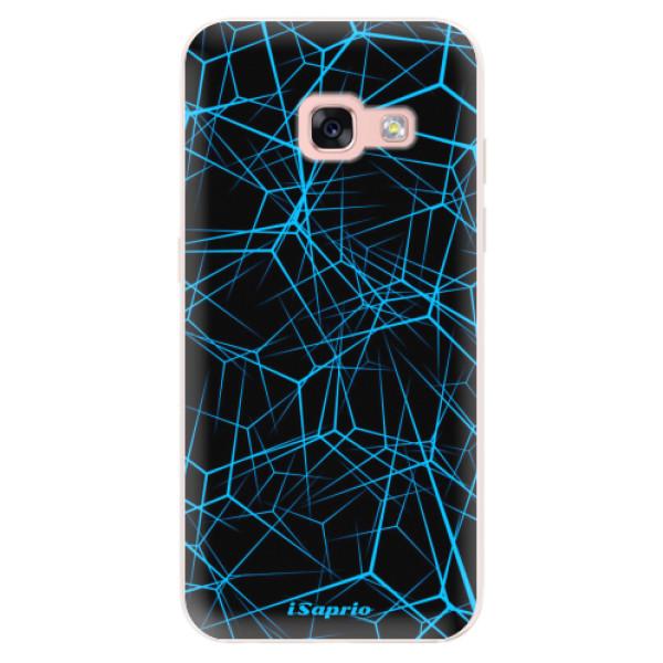 Silikonové pouzdro iSaprio - Abstract Outlines 12 - Samsung Galaxy A3 2017