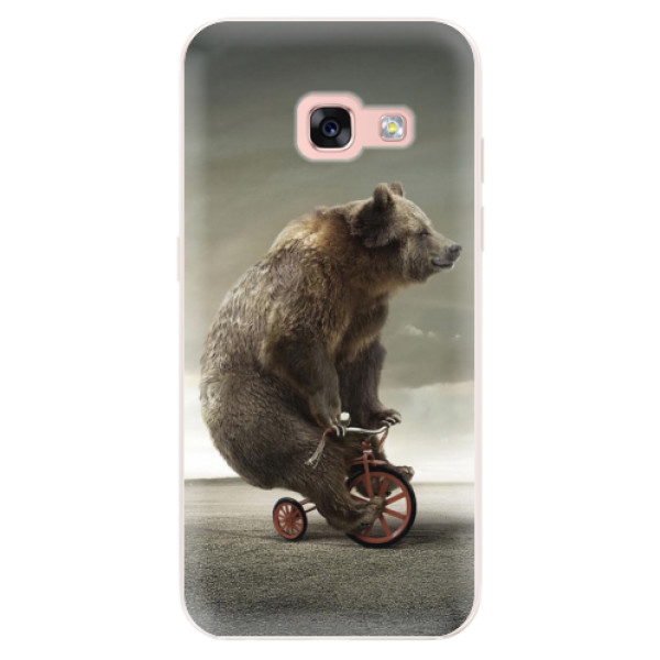 Silikonové pouzdro iSaprio - Bear 01 - Samsung Galaxy A3 2017