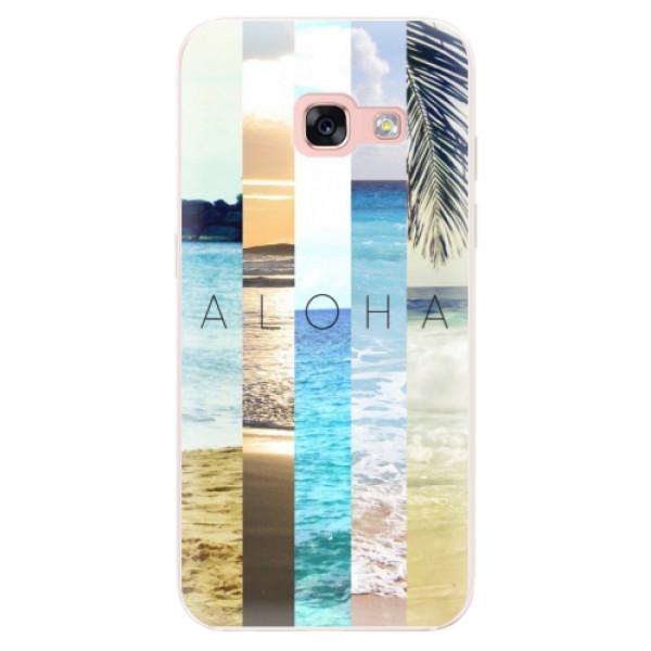 Silikonové pouzdro iSaprio - Aloha 02 - Samsung Galaxy A3 2017
