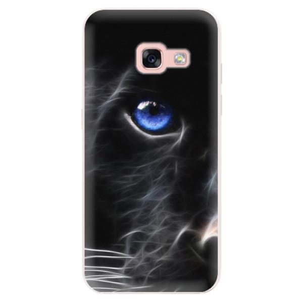 Silikonové pouzdro iSaprio - Black Puma - Samsung Galaxy A3 2017