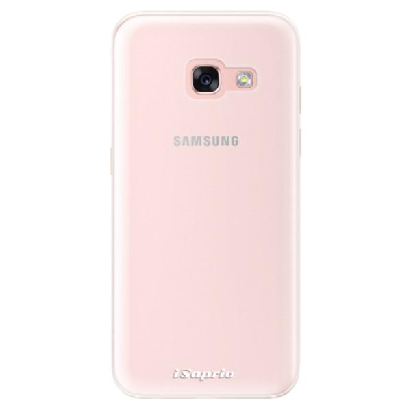 Silikonové pouzdro iSaprio - 4Pure - mléčný bez potisku - Samsung Galaxy A3 2017