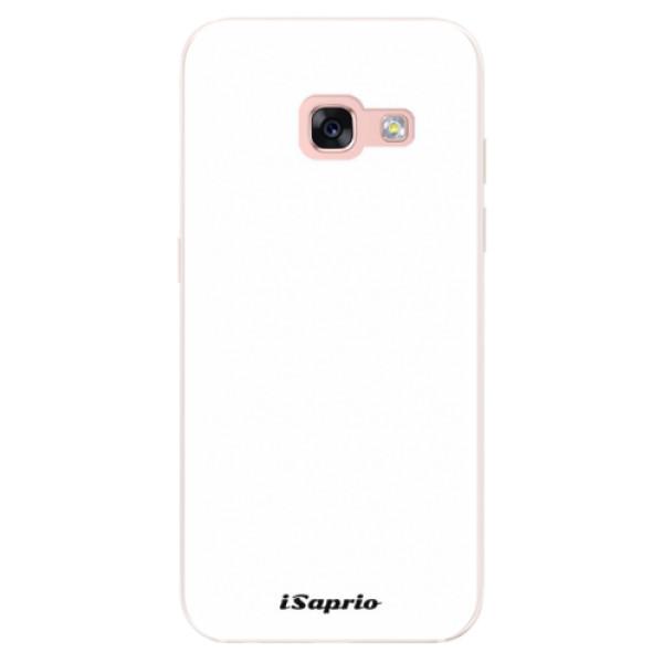 Silikonové pouzdro iSaprio - 4Pure - bílý - Samsung Galaxy A3 2017