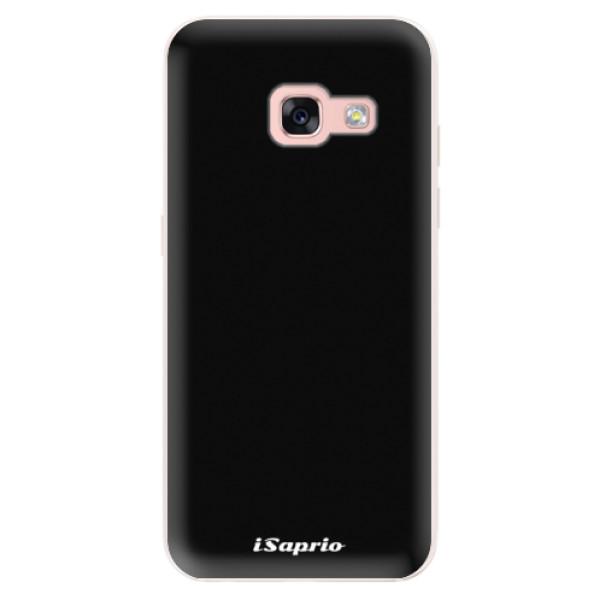 Silikonové pouzdro iSaprio - 4Pure - černý - Samsung Galaxy A3 2017