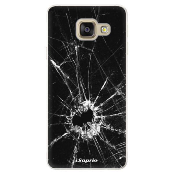 Silikonové pouzdro iSaprio - Broken Glass 10 - Samsung Galaxy A5 2016