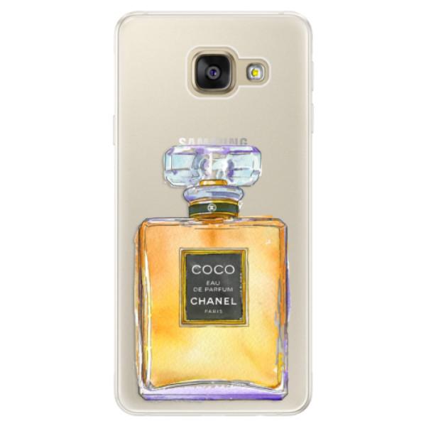 Silikonové pouzdro iSaprio - Chanel Gold - Samsung Galaxy A5 2016