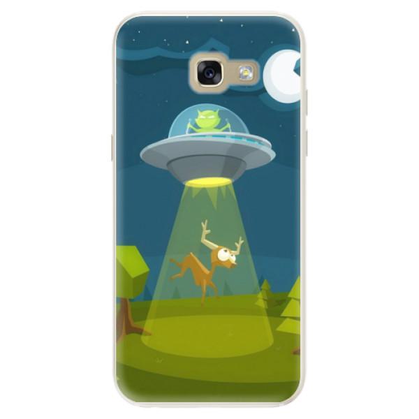 Silikonové pouzdro iSaprio - Alien 01 - Samsung Galaxy A5 2017