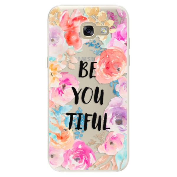 Silikonové pouzdro iSaprio - BeYouTiful - Samsung Galaxy A5 2017