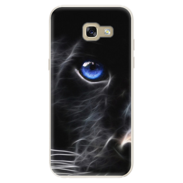 Silikonové pouzdro iSaprio - Black Puma - Samsung Galaxy A5 2017