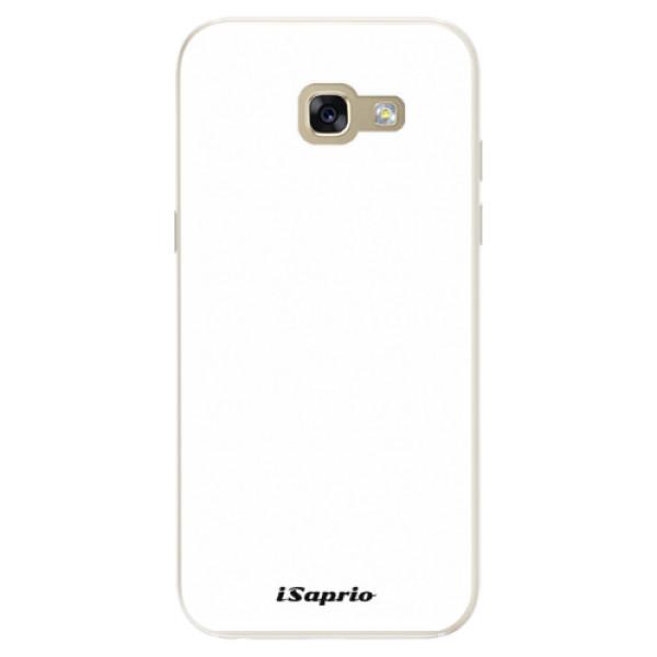 Silikonové pouzdro iSaprio - 4Pure - bílý - Samsung Galaxy A5 2017